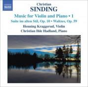 Henning Kraggerud: Sinding, C.: Violin and Piano Music, Vol. 1 - CD