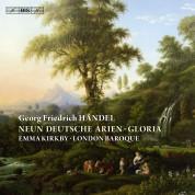 Emma Kirkby, London Baroque: Händel: 9 Deutsche Arien - CD