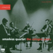 Amadeus Quartet: The Cologne Years - CD