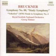 Royal Scottish National Orchestra, Georg Tintner: Bruckner: Study Symphony - 'Volksfest' Finale to Symphony No. 4 (1878) - CD