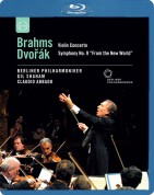 Gil Shaham, Berliner Philharmoniker, Claudio Abbado: Europakonzert 2002 - Brahms: Violin Concerto / DVORAK: Symphony No. 9,