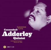 Cannonball Adderley: Legends Live - Liederhalle Stuttgart March 20, 1969 - Plak