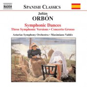 Orbon: Symphonic Dances - CD