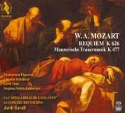 La Capella Reial de Catalunya, Le Concert des Nations, Jordi Savall: Mozart: Requiem - SACD