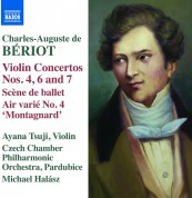 Ayana Tsuji, Czech Chamber Philharmonic Orchestra Pardubice, Michael Halasz: Beriot: Violin Concerto Nos.4, 6, 7 - CD