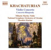 Khachaturian, A.I.: Violin Concerto / Concerto-Rhapsody - CD
