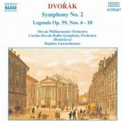 Stephen Gunzenhauser, Slovak Philharmonic Orchestra, Slovak Radio Symphony Orchestra: Dvorak: Symphony No. 2 / Legends Op. 59, Nos. 6-10 - CD