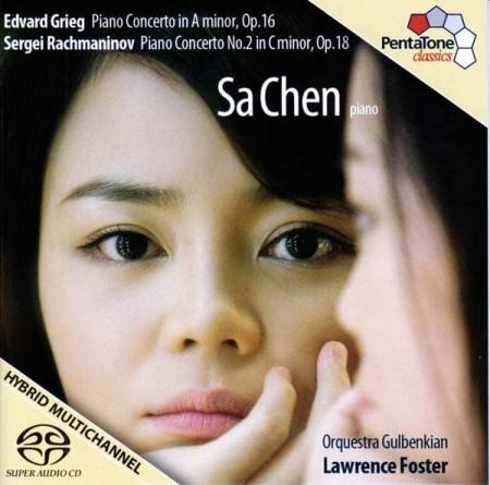 Sa Chen, Lawrence Foster, Orquestra Gulbenkian: Rachmaninov, Grieg: Piano Concerto - SACD