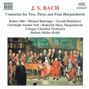 Helmut Muller-Bruhl: Bach, J.S.: Concertos for Two, Three and Four  Harpsichords - CD