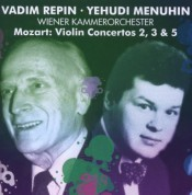 Vadim Repin, Wiener Kammerorchester, Yehudi Menuhin: Mozart: Violin Concertos 2, 3, 5 - CD