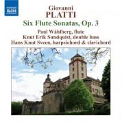 Paul Wahlberg: Platti: 6 Flute Sonatas, Op. 3 - CD