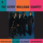 Gerry Mulligan: The Gerry Mulligan Quartet (feat Bob Brookmeyer, Bill Crow, Gus Johnson) - Plak