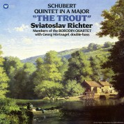 Sviatoslav Richter: Schubert: The Trout (Piano Quintet in A Major, D. 667) - Plak