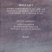 Keith Jarrett, Stuttgarter Kammerorchester, Dennis Russell Davies: Wolfgang Amadeus Mozart: Piano Concertos I - CD