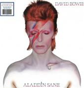 David Bowie: Aladdin Sane (45th Anniversary Silver) - Plak