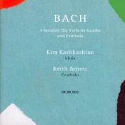 Kim Kashkashian, Keith Jarrett: Johann Sebastian Bach: 3 Sonaten für Viola da Gamba und Cembalo - CD