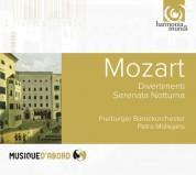 Freiburger Barockorchester, Petra Müllejans: Mozart: Divertimenti, Serenata notturna - CD