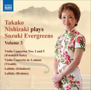 Takako Nishizaki Plays Suzuki Evergreens, Vol. 3 - CD