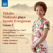 Takako Nishizaki Plays Suzuki Evergreens, Vol. 3 - CD