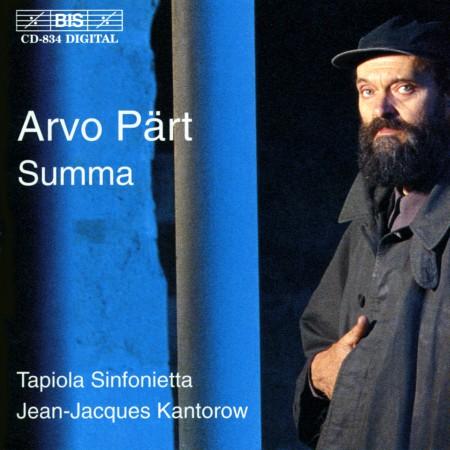 Tapiola Sinfonietta: Arvo Part played by Tapiola Sinfonietta - CD