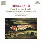 Shostakovich: Piano Trios Nos. 1 and 2 - CD