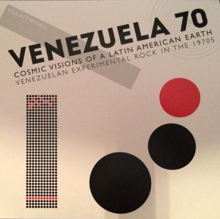 Çeşitli Sanatçılar: Venezuela 70 (Cosmic Visions Of A Latin American Earth: Venezuelan Experimental Rock In The 1970's) - Plak