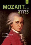 Radu Lupu, Christian Zacharias: Mozart: Great Piano Concertos Vol.3 - DVD
