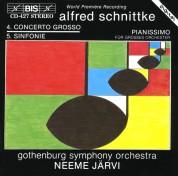 Göteborgs Symfoniker, Neeme Järvi: Schnittke: Concerto Grosso No.4 - Symphony No.5 - CD