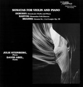 David Abel, Julie Steinbeck: Sonatas For Violine And Piano - Plak