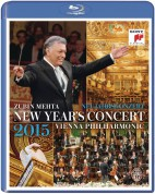 Zubin Mehta, Wiener Philharmoniker: 2015 New Year's Concert - BluRay