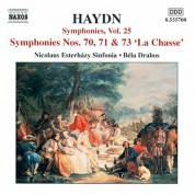 Haydn: Symphonies, Vol. 25 (Nos. 70, 71, 73) - CD