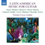 Vicente Coves: Latin-American Music for Guitar - CD