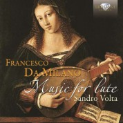Sandro Volta: Da Milano: Music for Lute - CD