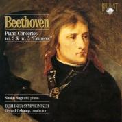 Shoko Sugitani, Berliner Symphoniker, Gerard Oskamp: Beethoven: Piano Concertos No. 3 & No. 5 - CD