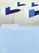Borodin String Quartet: Tchaikovsky: String Quartets Nos. 1 & 2/ Shostakovich: String Quartets Nos. 3 & 8 - DVD