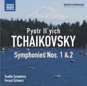 Gerard Schwarz, Seattle Symphony Orchestra: Tchaikovsky: Symphonies Nos. 1 and 2 - CD