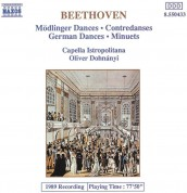 Capella Istropolitana, Oliver von Dohnanyi: Beethoven: Dances - CD