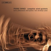 Berlin Philharmonic Wind Quintet, Love Derwinger: Danzi: Complete Wind Quintets - CD