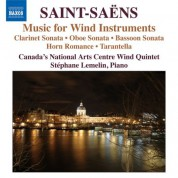 Çeşitli Sanatçılar: Saint-Saens: Music for Wind Instruments - CD