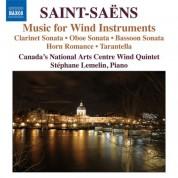 Çeşitli Sanatçılar: Saint-Saens: Music for Wind Instruments - CD