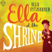 Ella Fitzgerald: Ella At The Shrine: Prelude To Zardi's - Plak
