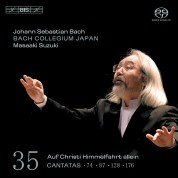 Bach Collegium Japan, Masaaki Suzuki: J.S. Bach: Cantatas, Vol. 35 - SACD
