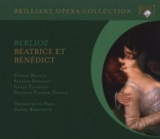 Yvonne Minton, Plácido Domingo, Ileana Cotrubas, Dietrich Fischer-Dieskau, Orchestre de Paris, Daniel Barenboim: Berlioz: Beatrice & Benedict - CD