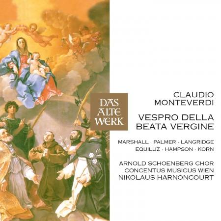 Monteverdi: Vespro Della Beata Vergine - CD