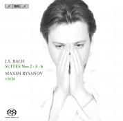 Maxim Rysanov: J.S. Bach: Suites for Viola II - SACD