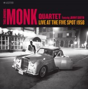 Thelonious Monk: Live At The Five Spot 1958 - (Photos By William Claxton) - CD