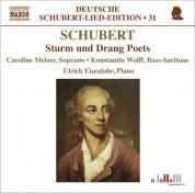 Caroline Melzer: Schubert: Lied Edition 31 - Sturm Und Drang Poets - CD