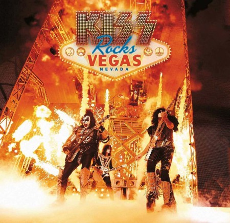 Kiss: Rocks Vegas Nevada (Coloured Vinyl) - Plak