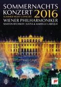 Semyon Bychkov, Wiener Philharmoniker, Katia & Marielle Labèque: Summer Night Concert 2016 - BluRay