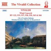 Vivaldi: Wind Concertos - CD